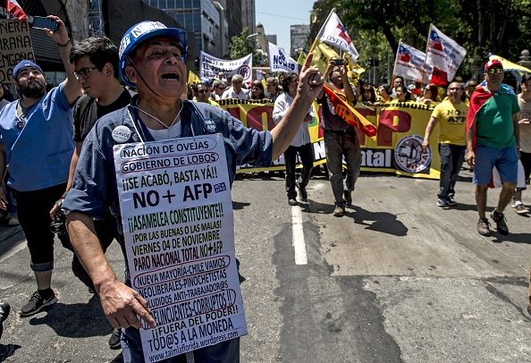 Millones de trabajadores han salido a las calles para exigir el fin de las AFPs