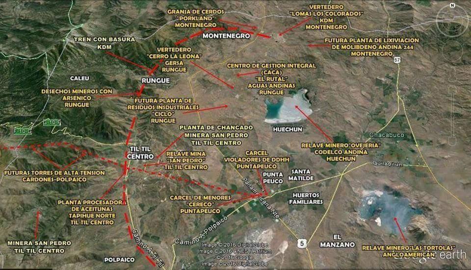 Mapa TIL TIL