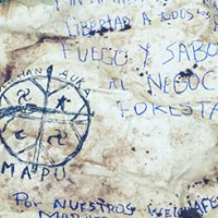 WEICHAN AUKA MAPU Reinvindica Acción Militar contra SOTRASER Transporte Forestal
