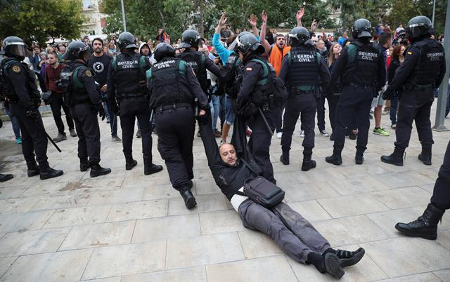 Detenidos en Cataluña