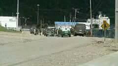 Puerto Chacabuco enfrentamientos 2