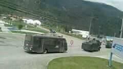 Puerto Chacabuco enfrentamientos