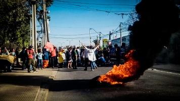 Profes en barricada