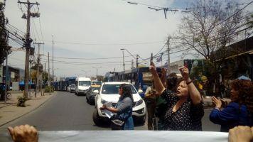 Protesta a las afueras de la municipalidad 5