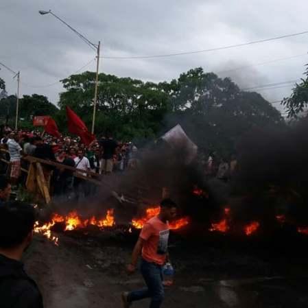Protesta en Honduras2