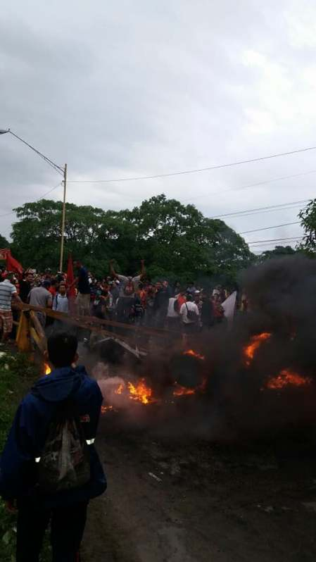 Protesta en Honduras3