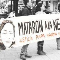 Convocan a manifestaciones exigindo justicia para Macarena Valdés.