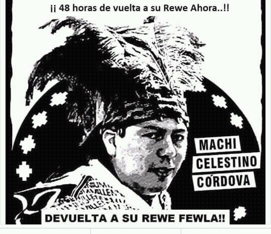 MACHI CELESTINO CÓRDOVA ANUNCIA PASO DE HUELGA LÍQUIDA A SECA