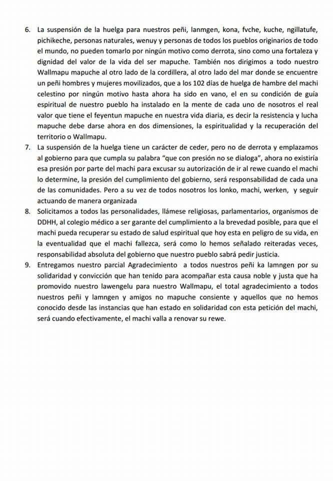 declaración autoridades wallmapu 2