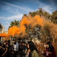 Primera marcha estudiantil termina con fuerte represión e infiltrados