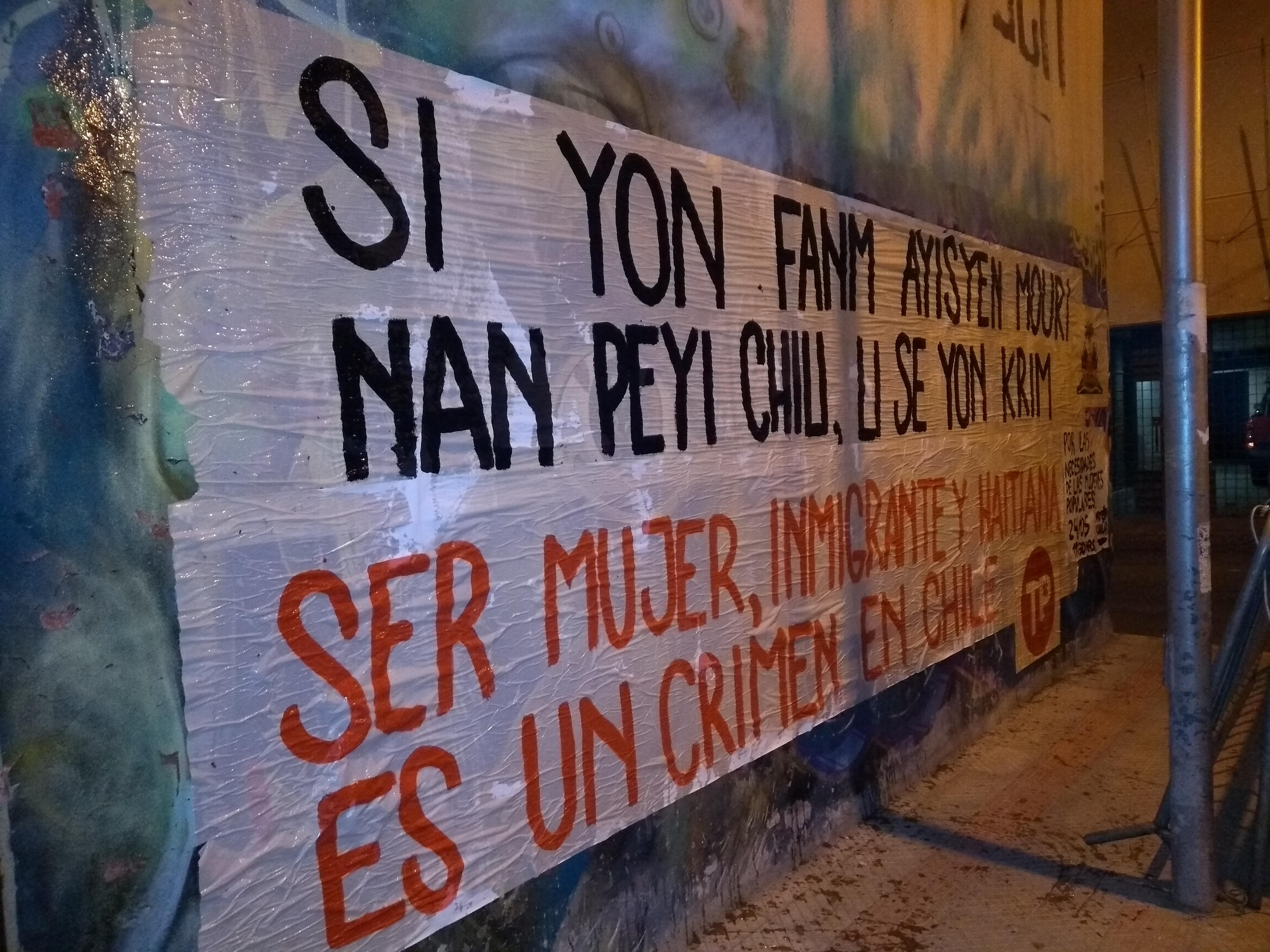 Lorgina León, Haitiana, denuncia golpiza por familia chilena en Cerro Navia