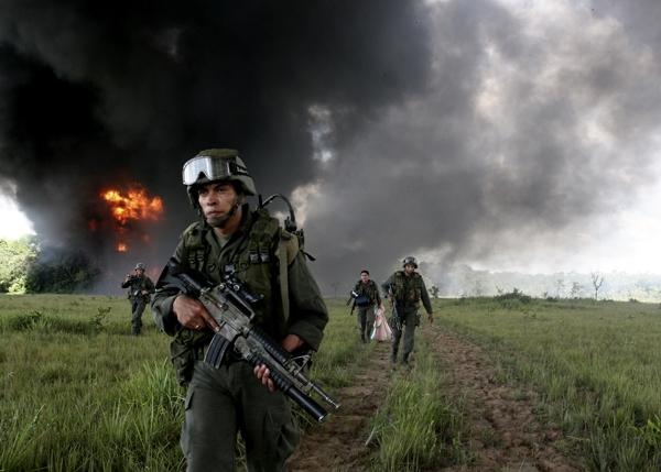 """""""Comando Jungla"""": así se llama el equipo antiterrorista chileno que entrena en Colombia"""