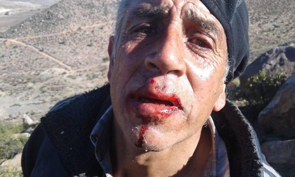 Pobladoras y Pobladores de Cuncumen en Salamanca se enfrentan con FFEE de Carabinero tras bloque a Mina los Pelambres