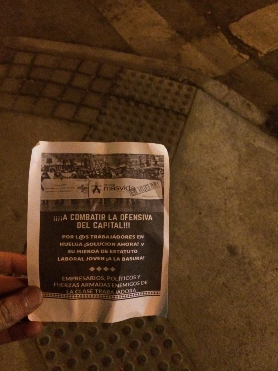 MARTILLAZOS DE TP Y MJL A LAS OFICINAS DE ISAPRE N. MAS VIDA EN CONCEPCIÓN.