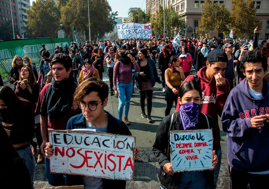 Chile-protesta-AFP.2019