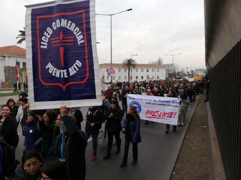 Manifestación Puente Alto